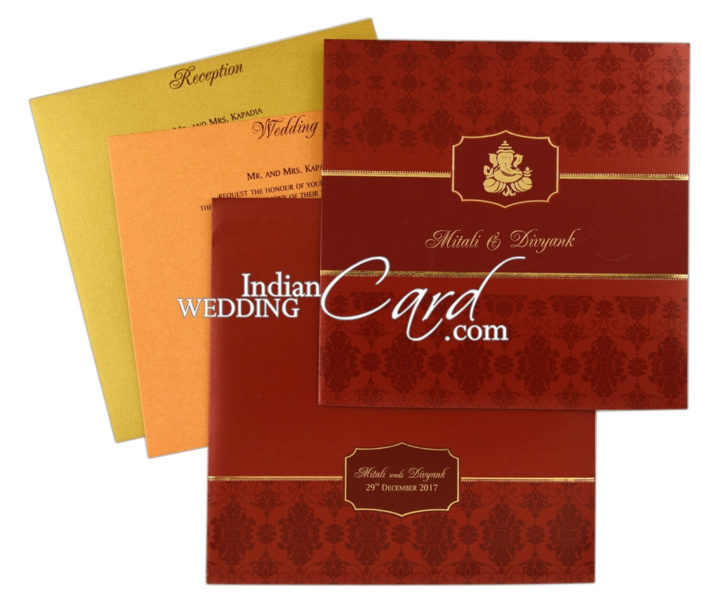 What To Include On Your Marriage Invitation Card? - Indian Wedding Card